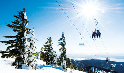 UBC students can hit the slopes at nearby ski resorts